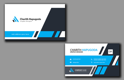 Do creative and professional  business card.