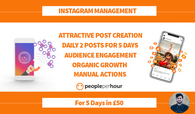 Create attractive posts, manage & grow your Instagram account