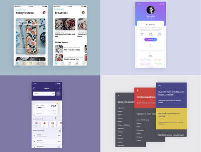 Design Creative Unique UI / UX / GUI for Mobile / App