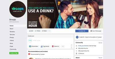 Design a Bespoke Facebook Design including Cover & Profile -