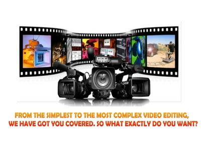 do professional video editing