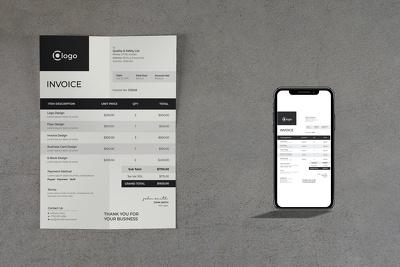 Combo Pack of Letterhead & Invoice