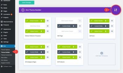 Install Divi theme for Wordpress