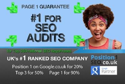 - SEO ANALYSIS - Over 20 in-depth reports - UKs #1 SEO Company
