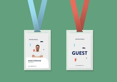 Make a 50 ID Card Design or Redesign for your company employee