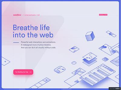 create or redesign webflow website