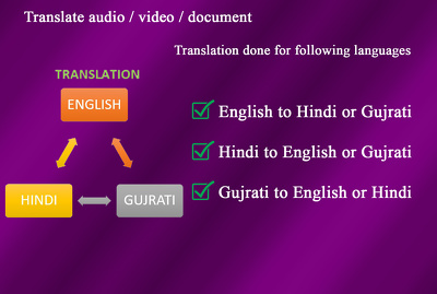 Translate documents for you