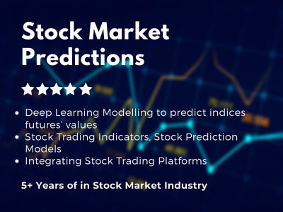 Build stock trading prediction indicator software