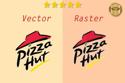 Do raster to vector with high resolution also fast turnaround