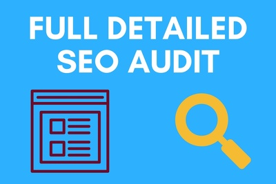 review your website and provide a detailed SEO audit report