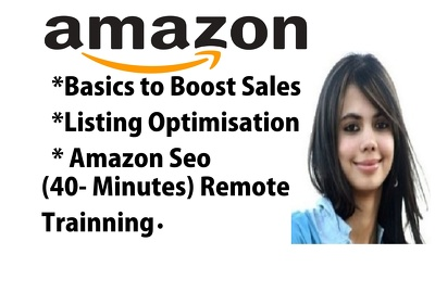 Provide Amazon Training(personalised as per your qu - 40 Minutes