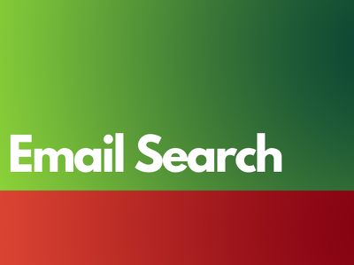 Search and give you active niche emails for your own use + BONUS