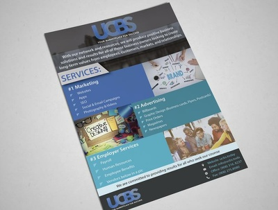 Design an eye catching flyer (leaflet) in 24 hours