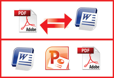 Convert your PDF to word, google doc, excel