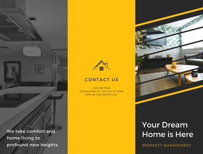 create an Open house or For Sale/Rent Property Flyer