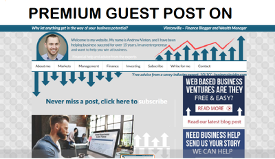 add A Guest Post on Vintonville.com