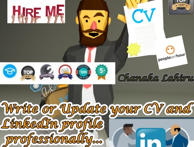 Create , Update your CV and LinkedIn profile professionally