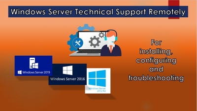 Provide Windows Server Technical support Remotely