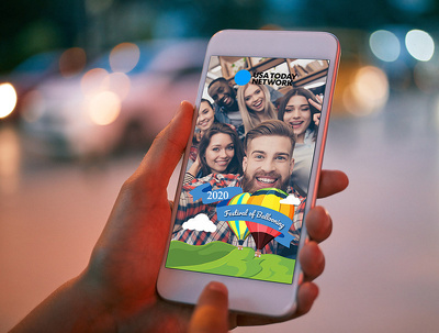 Design a Snapchat filter or Geofilter  in 24 hours or less