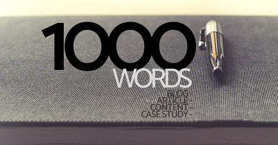 Create 1000 words of engaging, quality content on any subject.