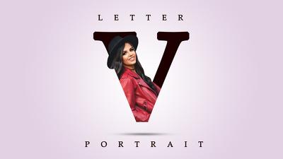 Create Letter Portrait for Social Media