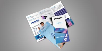 Do trifold brochure design in InDesign, illustrator or Photoshop