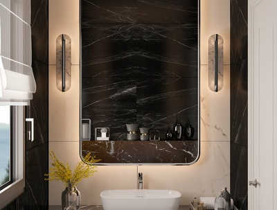 Bathroom/Kitchen Desing and Rendering