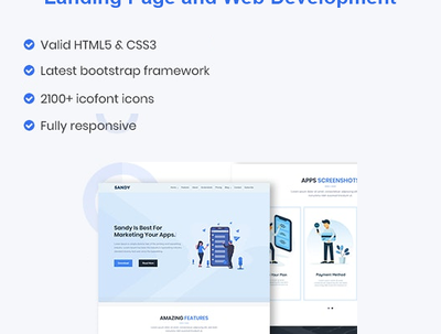 Develop responsive web page