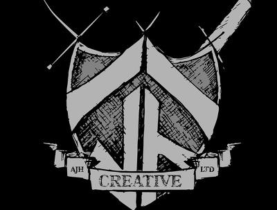 design you a hand drawn/ Shape built logo