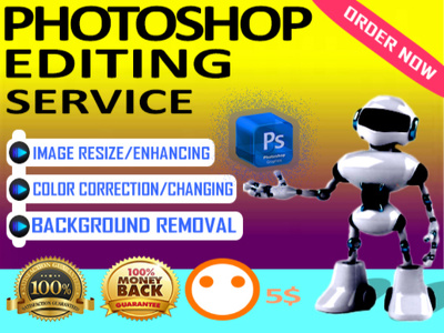 Do photoshop editing work professionally