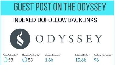 guest Post on Theodysseyonline DA 83 with Dofollow Backlink