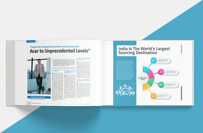 design corporate brochure, proposal and annual report