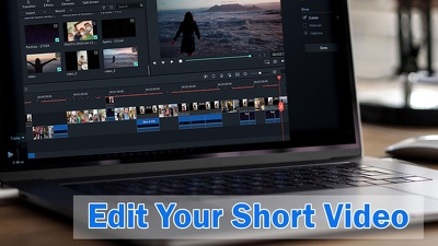 edit your short video / footage (Unlimited Revisions)