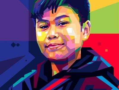 Design WPAP Portrait of your image