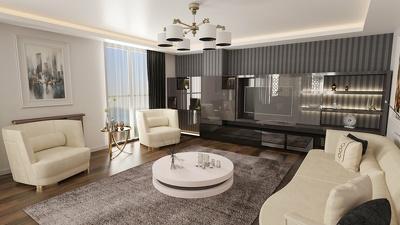 Interior 3D Rendering of Realistic
