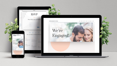 Make a beautiful wedding website