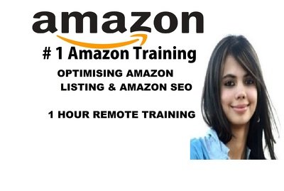 provide 1 hour training -optimising amazon listing /amazon SEO
