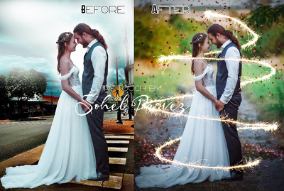 any kinds of photoshop work with your 1 image