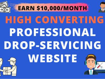 Create a High Converting Drop-servicing Website
