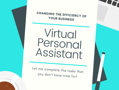 Be your virtual personal assistant for 8 hours