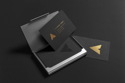 Design luxury business card