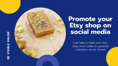 Promote items in your online shop on Twitter for 4 weeks