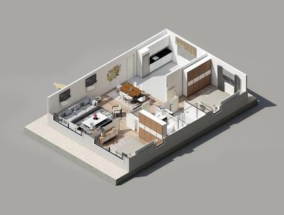 Make great looking 3D Floor plans