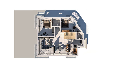 Create 3D Floorplan Rendering for your house