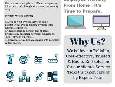 Handle your Business IT setup like servers, Firewalls, RDP,
