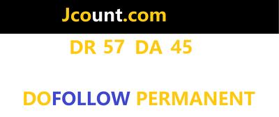 publish Guest Post on Jcount - Jcount.com DA 45 Dofollow Link
