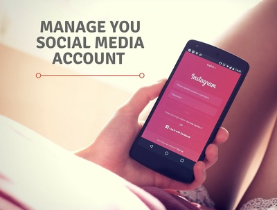 Manage your social media account 5 days