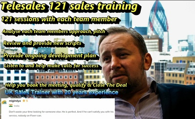 Remotely train your telesales team to hit target