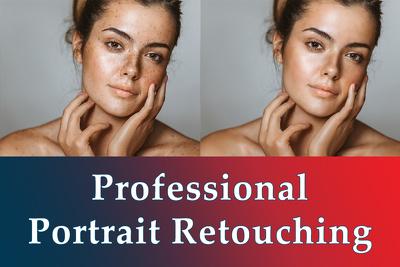 Do Portrait Retouching Professionally (2 Images)