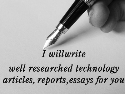 Offer support in writing and  research {1500 words project}